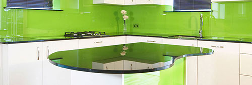GK Glazing Glass Splash Backs
